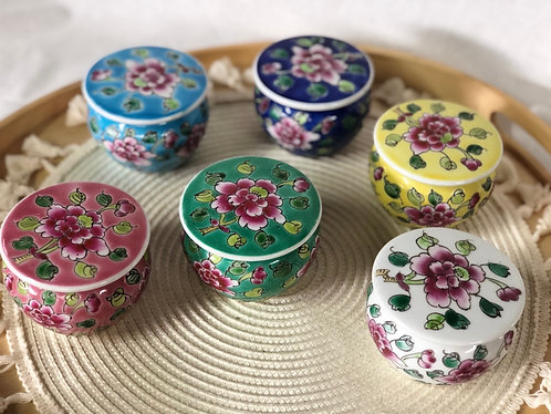 Peranakan container  (6 colour)