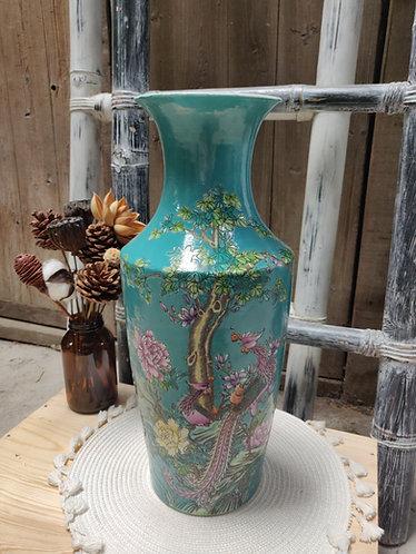 Teal Series Vase #2