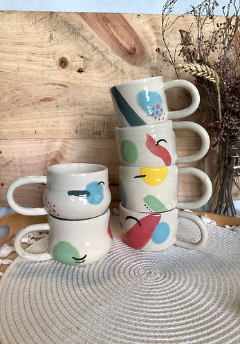 Baby colours prints cup (small - 6 Designs)
