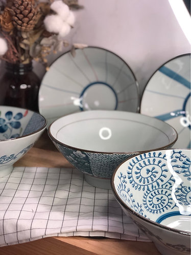 V shape bowl (5 designs)