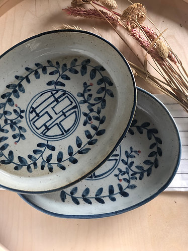 Oval shallow dish (5 designs)