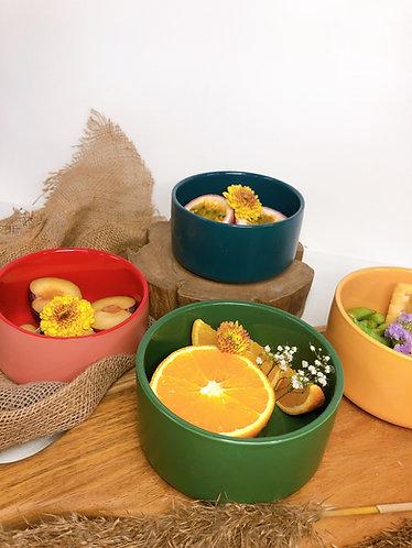 Double finishing bowl (4 colours)