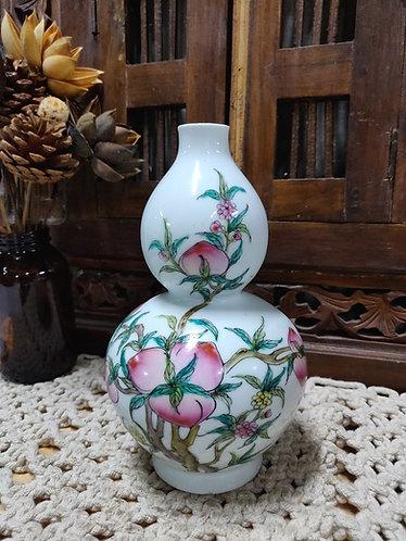 Peach Paradise Small Vase