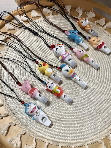 Ceramics whistle (10 Designs)