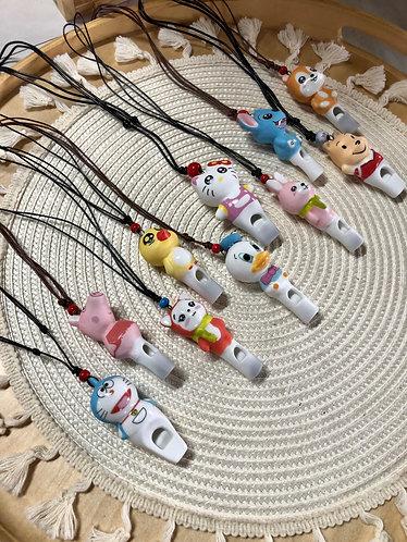 Ceramics whistle (10 Designs)
