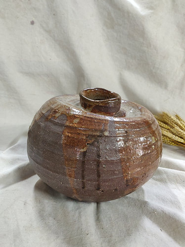 Freeform Brown Vase