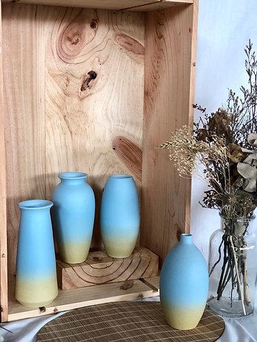 Coloured ceramics bottle | 4 designs