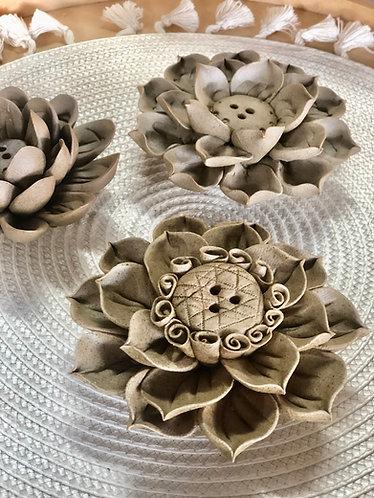 Handmade flower x incense stick holder