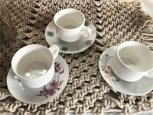 Vintage coffee cup (3 designs)
