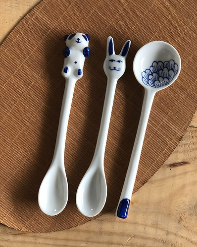 Blue and White Spoon (3 Designs)