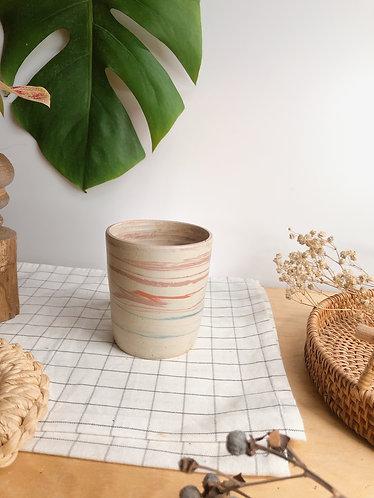 Second life x Dragon kiln fired x marbling cup