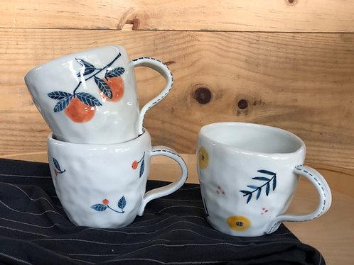 Floral cup (3 designs)