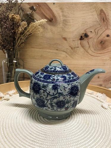 Peony teapot