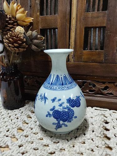 Blue White Small Vase