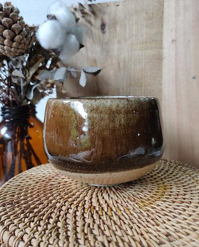 Deep Brown Shades Bowl