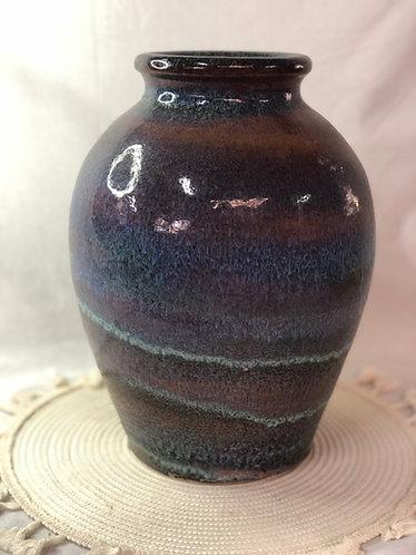 Layer glazed vase