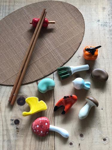 Chopstick rest (6 Designs)
