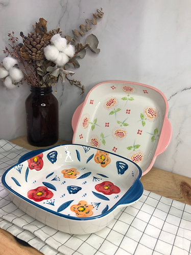 Colour my life | Square baking dish (2 designs)