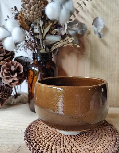 Shades of Brown Gloss Bowl