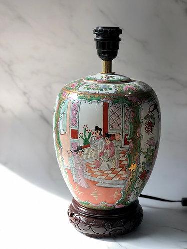 Handpainted round vase  (2 sizes)