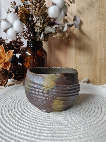 Textured Olive Accent Bowl