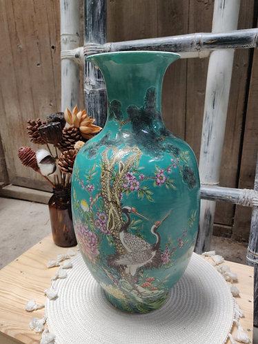 Teal Series Vase #1