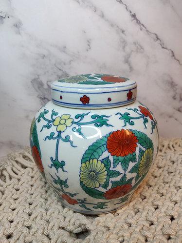 Oriental Ceramic Canister