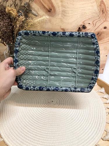 Peony series   bamboo plate