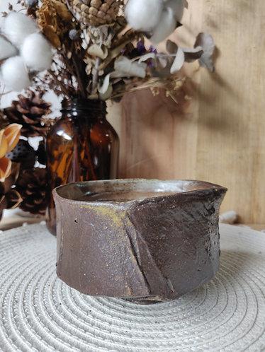 Slip Textured Toasted Bowl