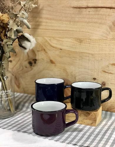 Vintage rusty cup (ceramics)