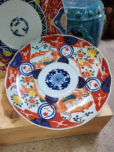 Colourful Vintage Plates