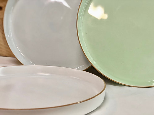 Round plate (3 colours)