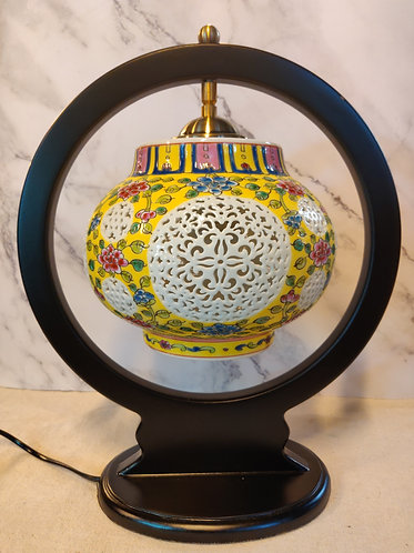 Peranakan lamp with Cutout