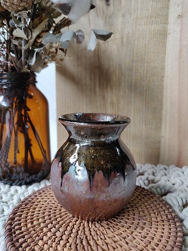 Brown Sheen Vase