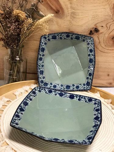 Peony plate (2 sizes)