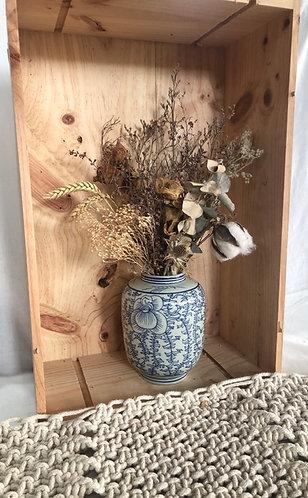 Blue & Grey Jar