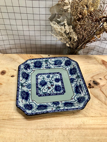 Peony square side plate