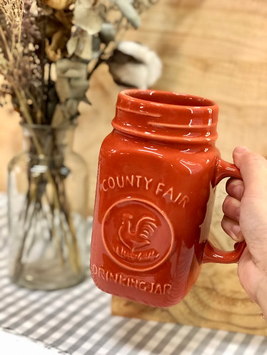 Rooster drinking cup