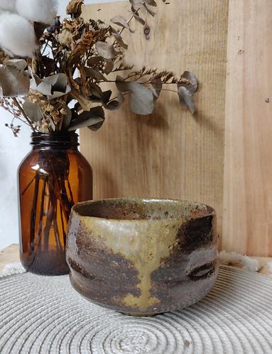 Brown/Coffee Textured Bowl