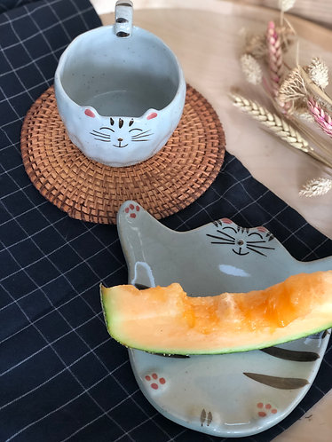 Cat series | Cup &Plate