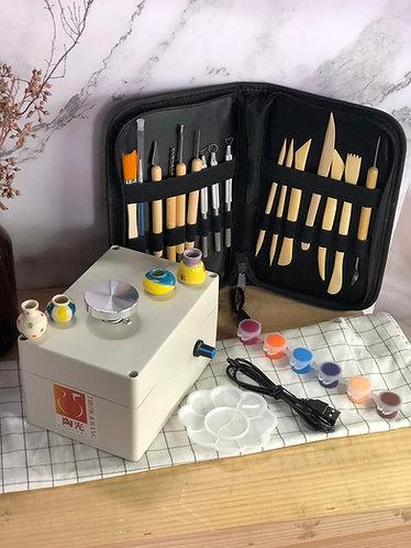 Mini potter's wheel Premium Set