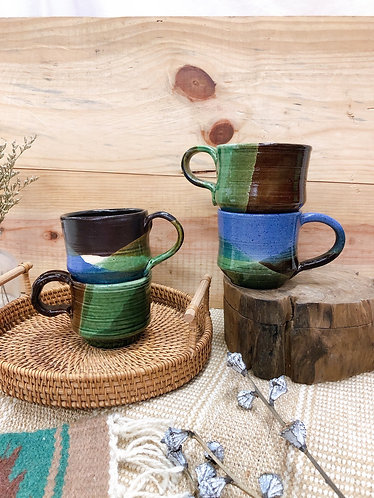 Forest x cup with handle ( 4 designs)