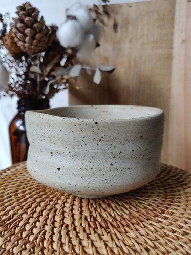 Textured Speckled Freeform Bowl