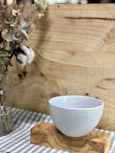 White dots bowl