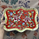 Thumbnail: Peranakan tray with handle - Full Peony Series (6 colours)