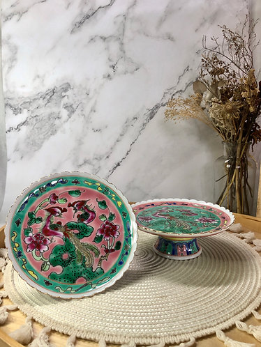Peranakan cake stand (2 colours)