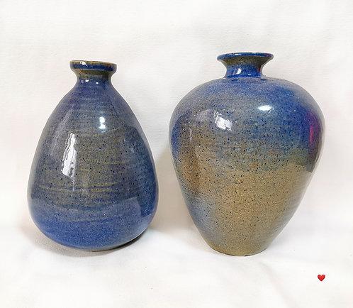 Blue Glazed Vase