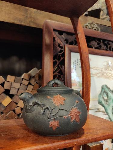 Blue Oriental Mini Teapot