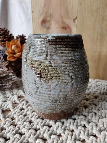 Variegated Shades Table Vase