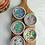Thumbnail: Peranakan full peony x mini plate (5 colours)
